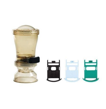 Dávkovač soli a koření Server InSeason s regulací dávky, široký rozptyl, obsah 296 ml.