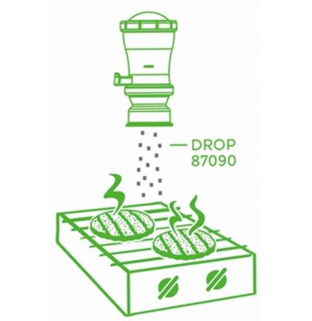 Dávkovač soli a koření Server InSeason s regulací dávky, úzký rozptyl, obsah 296 ml.