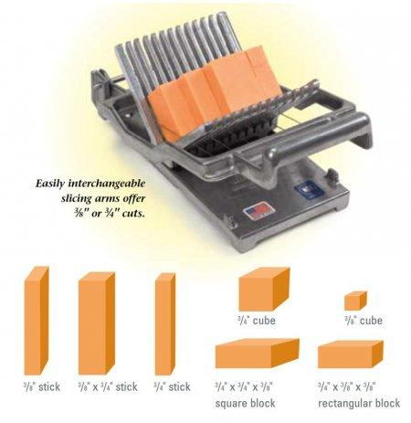 Kráječ měkkých a polotvrdých sýrů Nemco Easy cheeser 10 a 19 mm