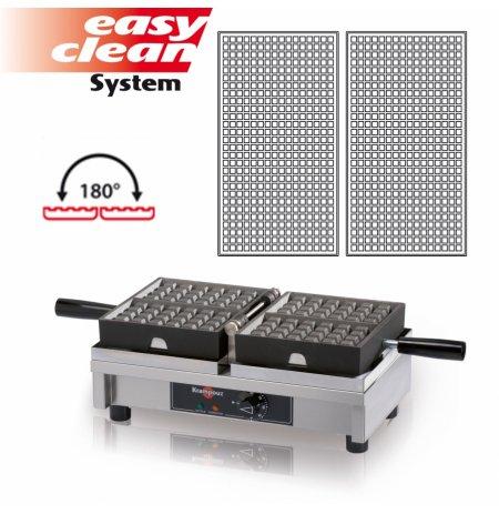 Vaflovač elektrický KRAMPOUZ, Fine 16x28, sklopný 180°, madlo I, EasyClean