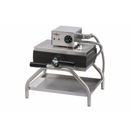 Vaflovač elektrický KRAMPOUZ, Lutych 4x5, otočný 360°, madlo L, EasyClean