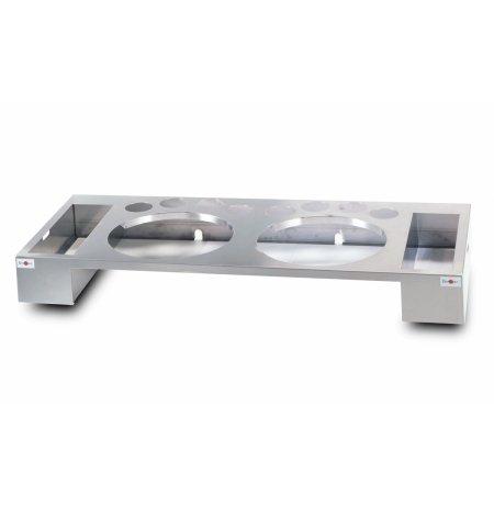 Kompaktní pracovní stanice na crepes dvojitá bez hygienického zákrytu, Krampouz PTEA2A