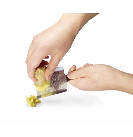 Struhadlo nerezové malé na česnek, zázvor, ořechy
