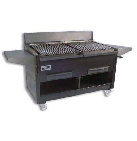 Pracovní deska boční černá 810x350 mm grilů BBQ Pira
