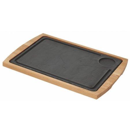 Deska bambusová servírovací pro břidlicovou desku