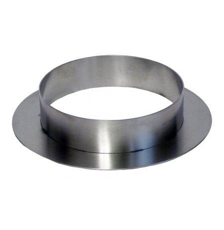 Spojovací kroužek nerezový pro externí lapač jisker komínu pece Pira