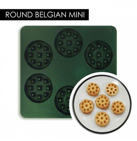Forma Belgické vafle kulaté MINI