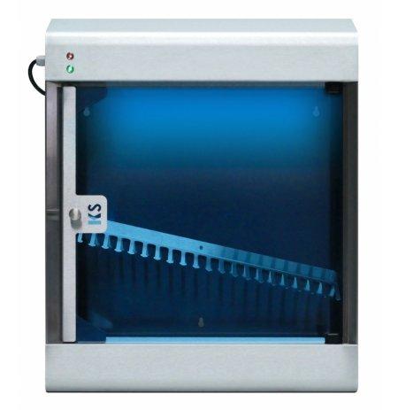 Sterilizátor nožů UV-C plně automatický KS20P s nerezovým roštem