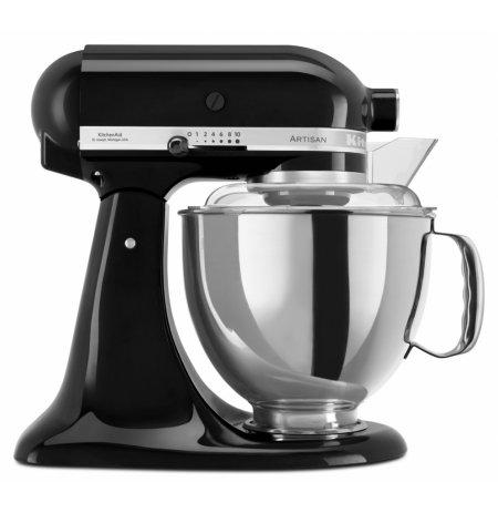 Robot kuchyňský Artisan 4,8 ltr. černý, KitchenAid
