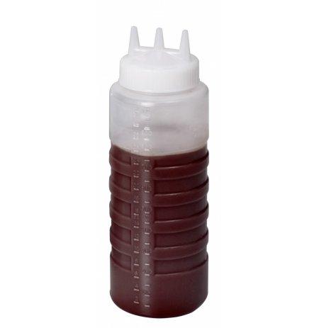 Stříkací láhev ABM2 obsahu 1 litr, 3 stříkací trysky