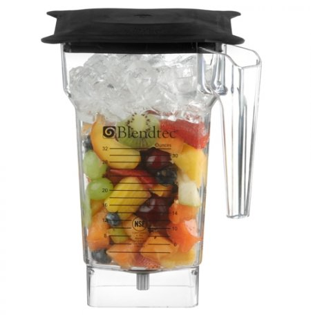 Nádoba Blendtec FourSide 4 stranná DBR, BPA-free,vč.gumového víka