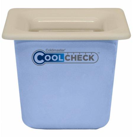 Nádoba nachlazovací CoolCheck GN1/6, bílá s indikací nachlazení