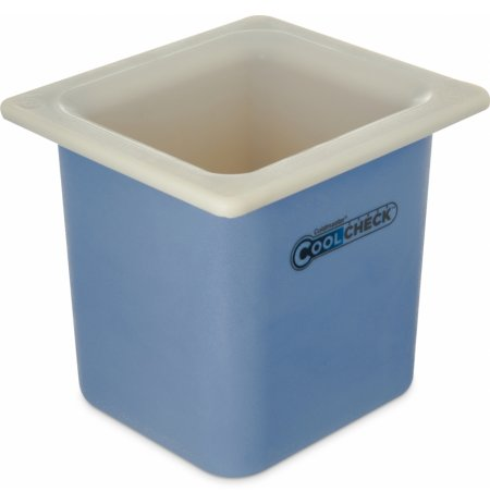Nádoba nachlazovací CoolCheck GN1/6 větší obsah, bílá s indikací nachlazení