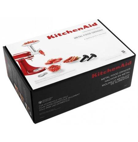 Mlýnek na maso kovový KitchenAid KSMMGA přídavný