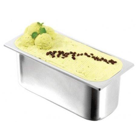 Gastronádoba na zmrzlinu 5 ltr.,nízká, nerezová