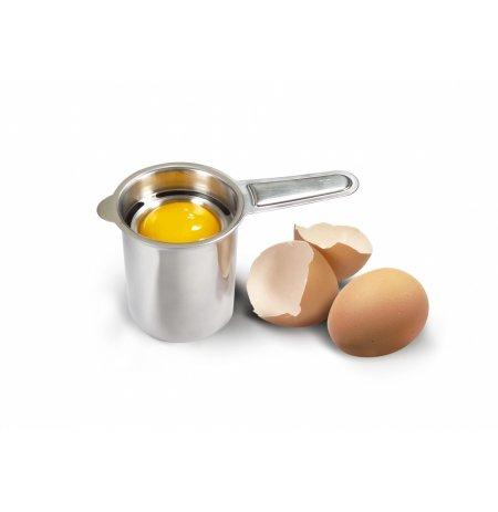 Oddělovač žloutku od bílku, separátor vajec, nerezový