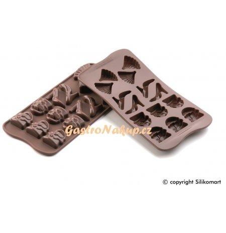 Forma na čokoládu silikonová EasyChoc 14x Fashion