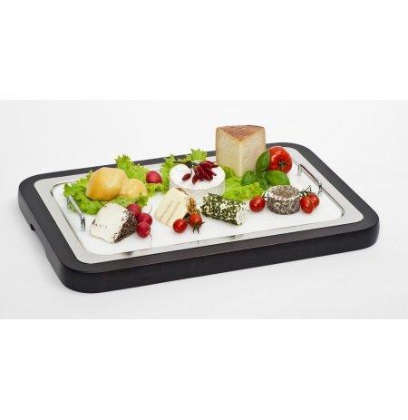 Podnos chladící WOOD, polyethylen.plato GN1/1, dřevo Wenge