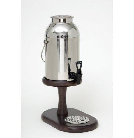 Zásobník chlazeného mléka, 6 ltr.,dřevo Wenge