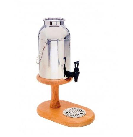 Zásobník chlazeného mléka, 6 ltr.,Třešňové dřevo