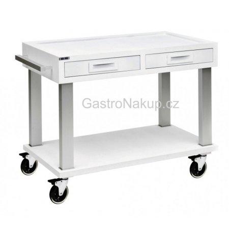 Servírovací vozík základní Tactus, bílý