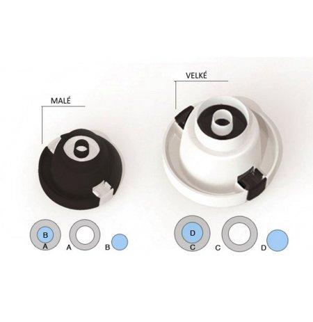 Vykrajovače 3D kolečka pro dekoraci dortů, sada 2 ks