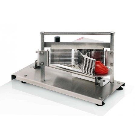 Plátkovač rajčat profesionální horizontální velký Tellier CTX40, plátky 4 mm