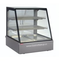 Vitrína teplá Adda HOT 3x GN1/1, obslužná, stolní, zápustná