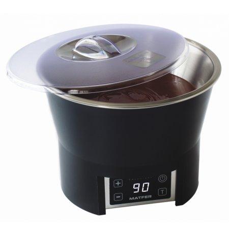 Ohřívací lázeň na čokoládu Caloribac C3 s obsahem 3,5 ltr., digitální ovládání