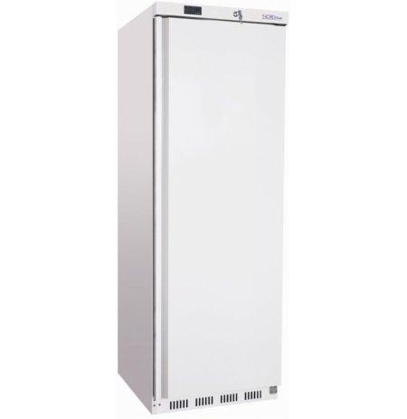 Skříň mrazící HF400, plné dveře, bílé opláštění, objem 340 ltr.