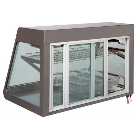Vitrína stolní chladící obslužná BigHorn Remote 100, izolační dvojsklo, agregát mimo