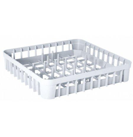 Koš do myčky na talíře plastový, 40x40x8 cm