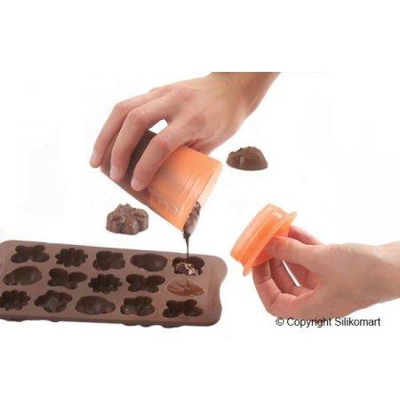 Nádobka silikonová 160ml na rozehřívání čokolády