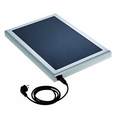 Ohřívací sklokeramická deska SATINE 60x40cm ultra nízká, elektrická