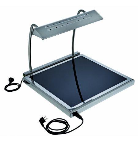 Ohřívací sklokeramická deska SATINE 60x60cm ultra nízká, elektrická