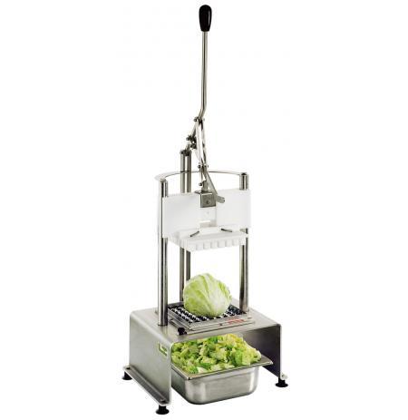 Kráječ salátů profesionální Tellier CSA s podstavcem, mřížky 23x23 mm