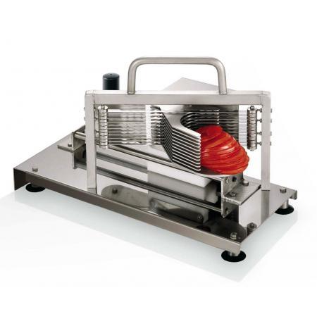Plátkovač rajčat profesionální horizontální Tellier CTX55, plátky 5,5 mm