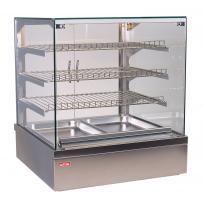 Vitrína teplá Thaya HOT GN2 High, obslužná, stolní