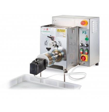 Výrobník tlačených těstovin elektrický P3 s hnětačem 3kg včetně 4 matric, 230V