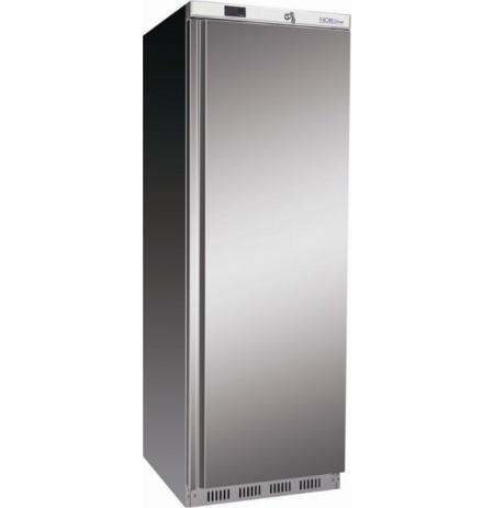 Skříň chladící ventilovaná NORDline UR400S, plné dveře, nerezové opláštění, 340 ltr.