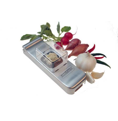 Kostičkovač mini Aligátor nerezový, 3x3 mm