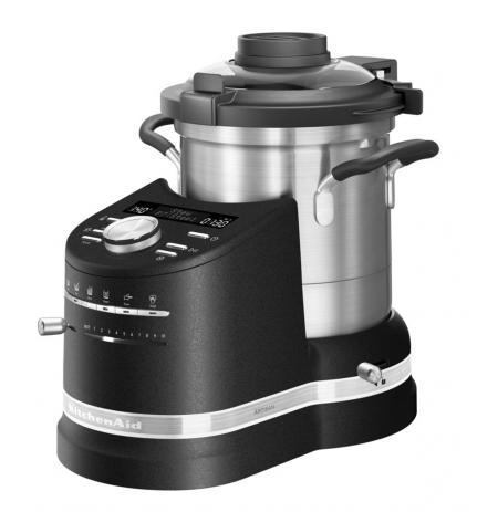 KitchenAid Varný robot Artisan - 5KCF0104EBK - černá litina