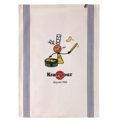 Utěrka bavlněná Krampouz 80x50cm s potiskem