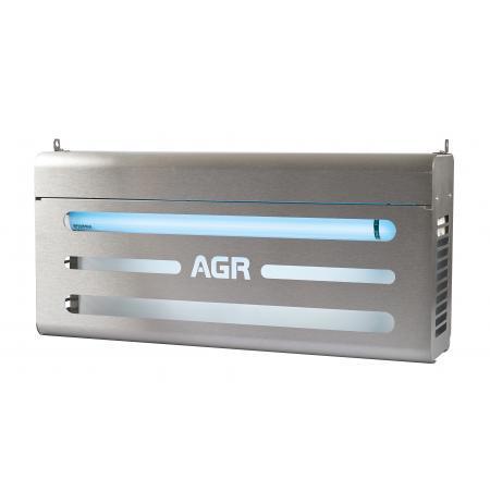 Lapač hmyzu elektrický s GLU nerez AGR80GiAES, 240 m2, IP54
