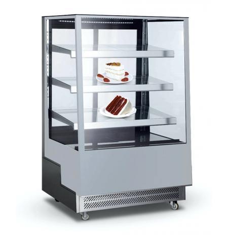 Chladicí vitrína cukrářská NORDline ARC 400 L (stříbrná)