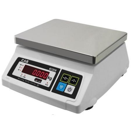 Váha stolní kuchyňská CAS SW-LR s LED displejem, 5 kg