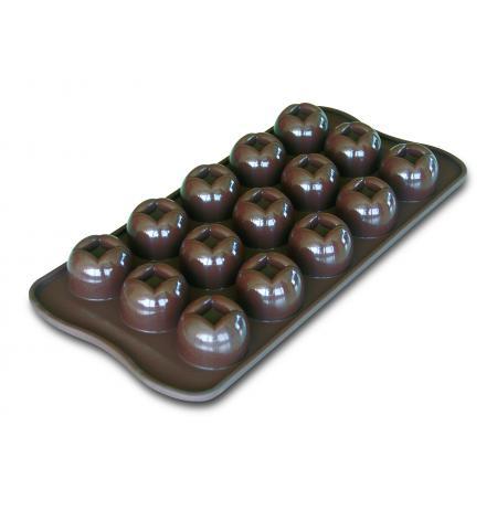 Forma na čokoládu silikonová EasyChoc 15x Imperial