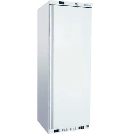 Skříň chladící ventilovaná NORDline UR400, plné dveře, bílé opláštění, 340 ltr.