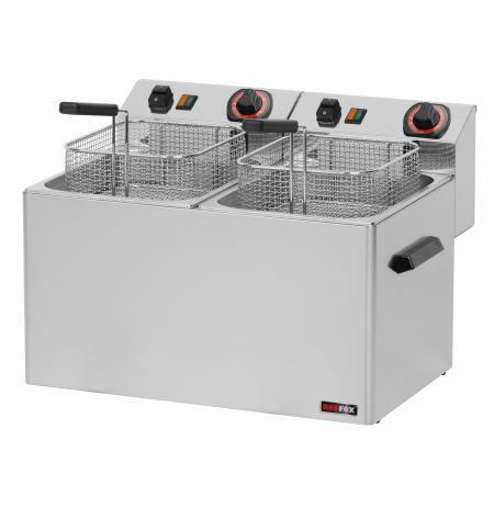 Fritéza elektrická 2x 8 Ltr. FE 77 RedFox
