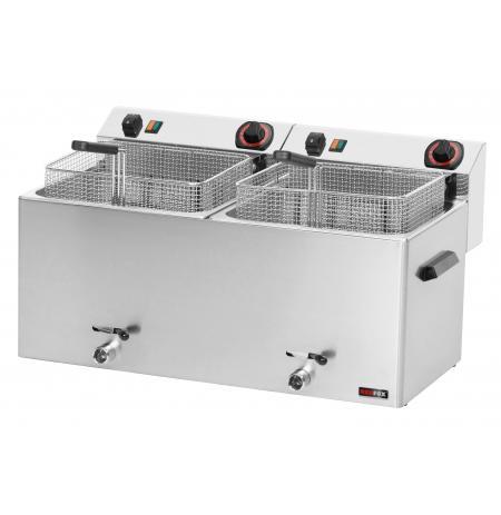 Fritéza elektrická 2x 11 Ltr. FE 1010 T RedFox